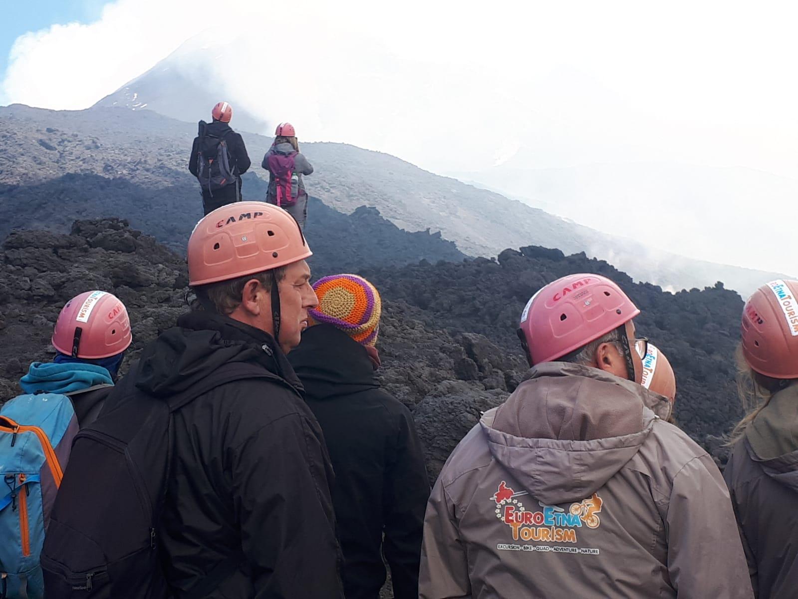 escursione eruzione etna
