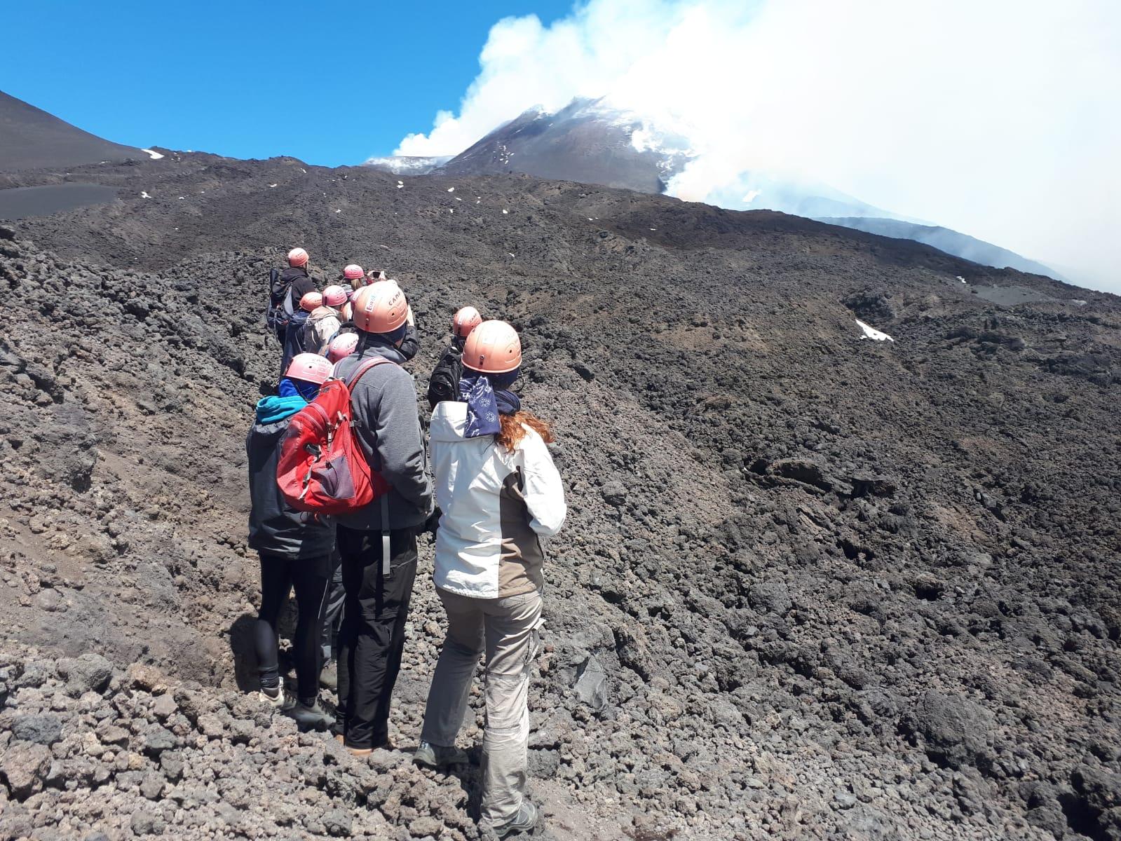 escursione lava etna
