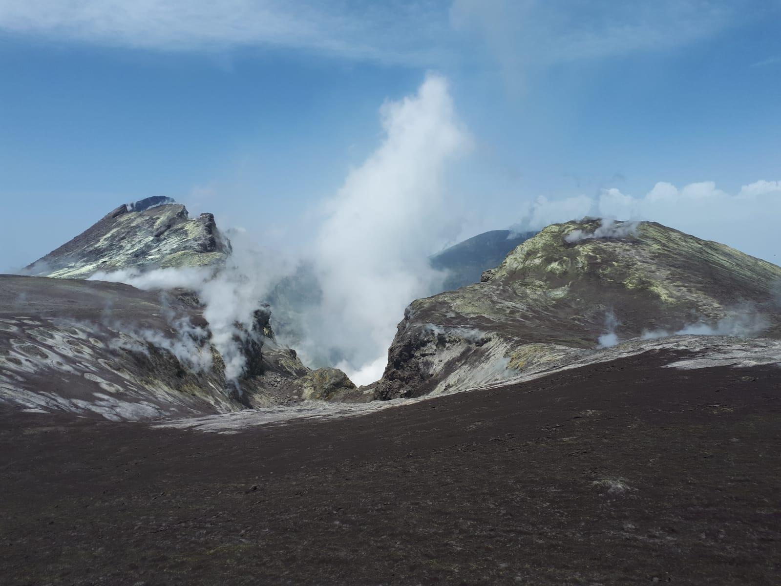 Etna Esplosione 2019
