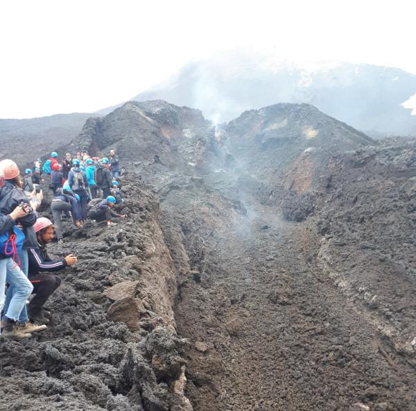 Lava In Diminuzione A Quota 2850 M – Etna 6 Giugno 2019